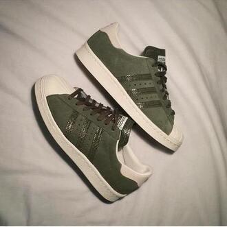 shoes adidas shoes khaki