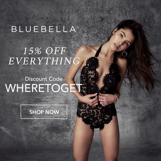 underwear lingerie black lingerie sexy lace black lace bluebella one piece