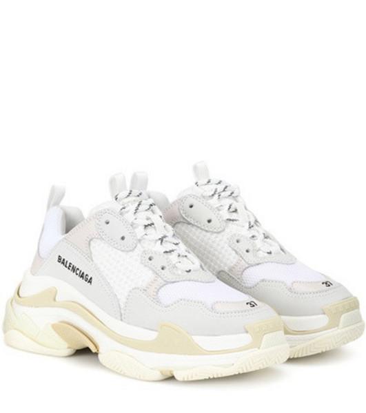 Balenciaga Triple S sneakers in white