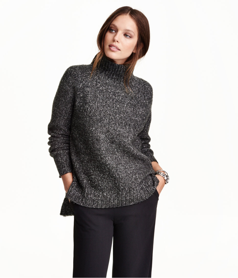 Knit Turtleneck Sweater $34.99