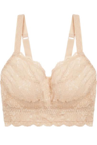 bra soft curvy lace blush underwear