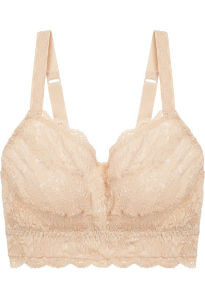 Cosabella - Never Say Never Curvy Sweetie Stretch-lace Soft-cup Bra - Blush