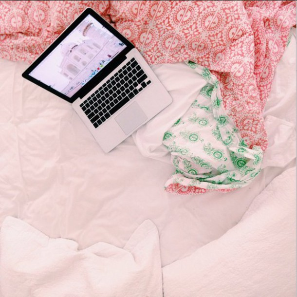 home accessory bedding indie pink and green bedding hipster