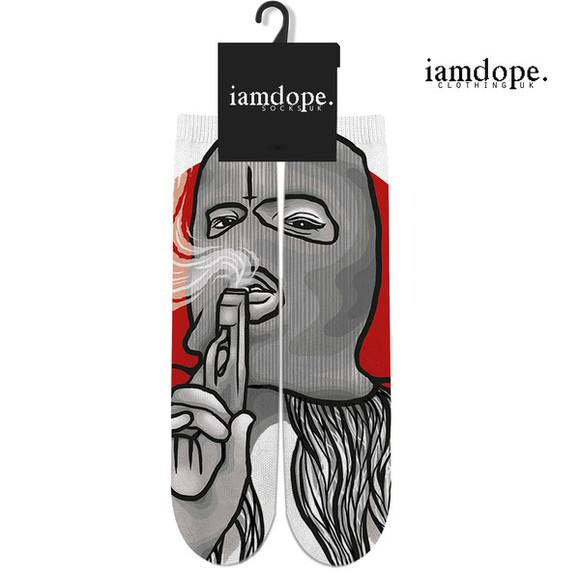 gun gangsta socks trill girl dope hiphop