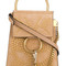 Chloé - faye crossbody bag - women - leather/metal - one size, nude/neutrals, leather/metal