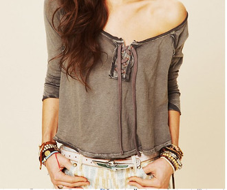 lace tshirt lace t-shirt grey top