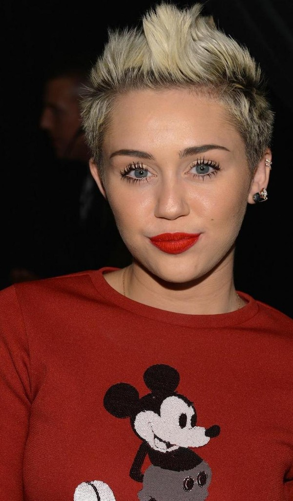 Jewels: helix piercing, miley cyrus, earrings, ear, ears ...