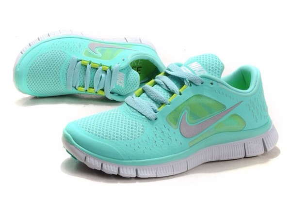 shoes mint green nike free