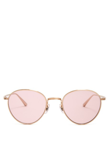 The Row sunglasses pink