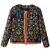 ROMWE | Retro Floral Short Padded Jacket, The Latest Street Fashion