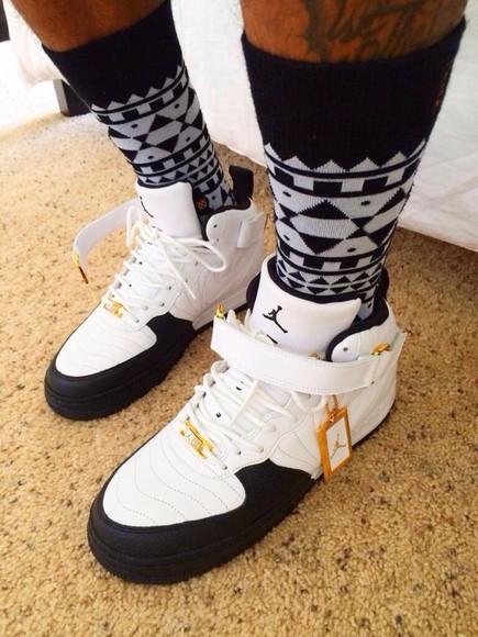 mens shoes jordans jordan shoes fusion black and white black toe