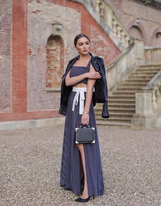 pants top wide-leg pants slit pants olivia culpo instagram