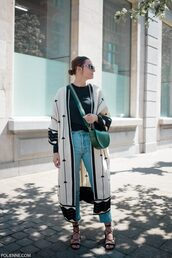 jeans,jeansd,denim,kimono,top,bag,shoes,strappy sandals