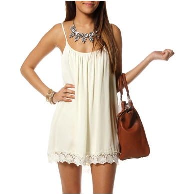 Pre-Order Ivory Sleeveless Crochet Tunic