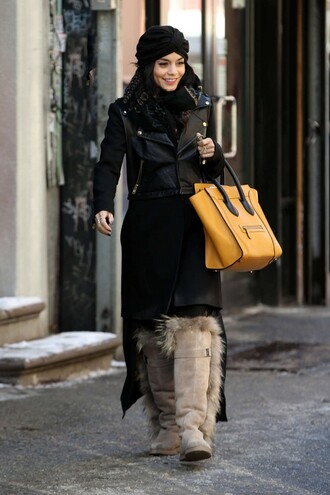 boots vanessa hudgens hat jacket