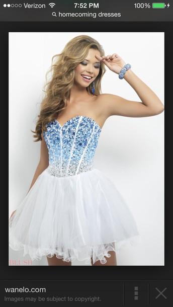 White Prom Dresses Tumblr