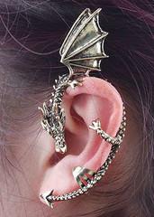 Sirenlondon — year of the dragon earring
