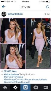 dress,kimkardashian lavender two-piece spandex midi