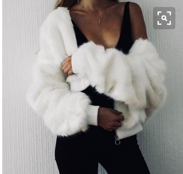 coat fur jacket fur coat fluffy