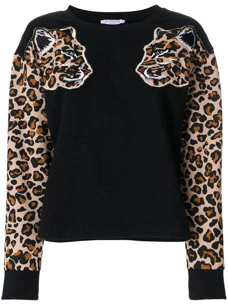 Vivetta - Fremantle sweater - women - Cotton/Spandex/Elastane - 42, Black, Cotton/Spandex/Elastane