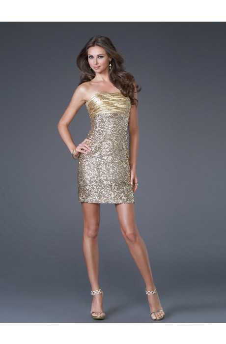 A-Line Sleeveless Short/Mini Prom Dresses