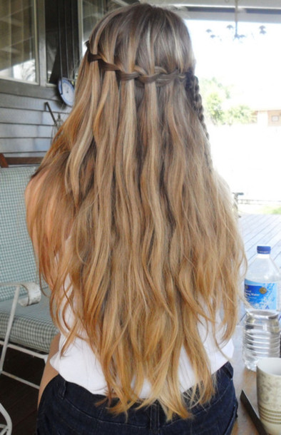hat hair braid hipster girly cute long hair beach hair plait 4f94824d609