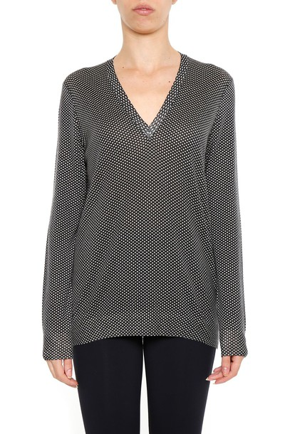 Bottega Veneta pullover black sweater