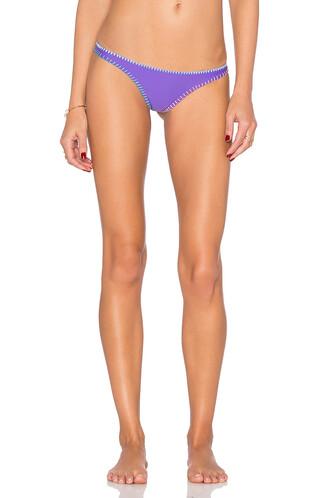 bikini purple