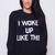 Inspired 'I woke up like this' Beyonce Sweatshirt