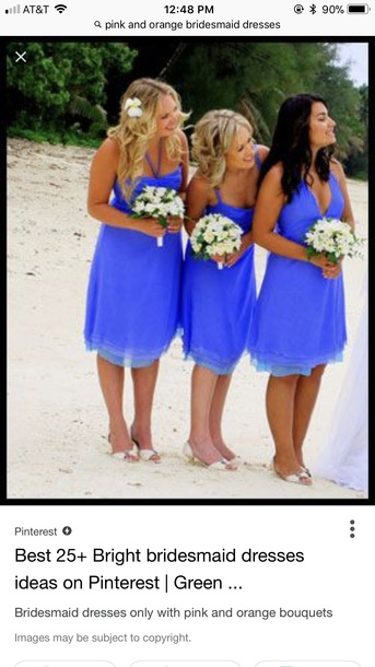 dress blue dress casual cute