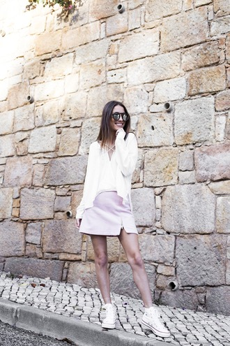 mexiquer blogger blouse skirt