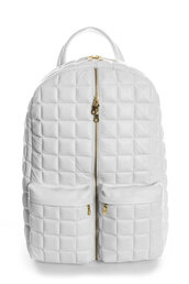 bag,backpack,white,zip,school bag