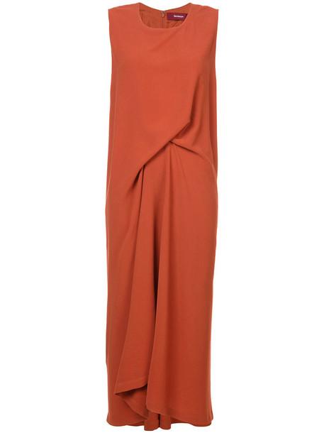 dress women nude silk