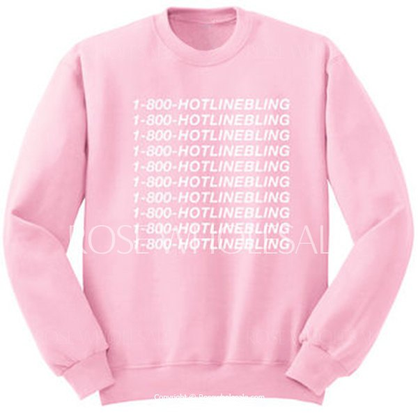 Endearing Round Collar Letter Printed Pink Pullover Sweatshirt For ...