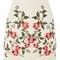 Petite ivy embroidered skirt - cream