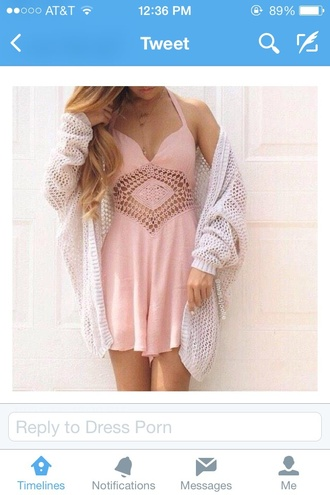 dress pink dress spaghetti straps