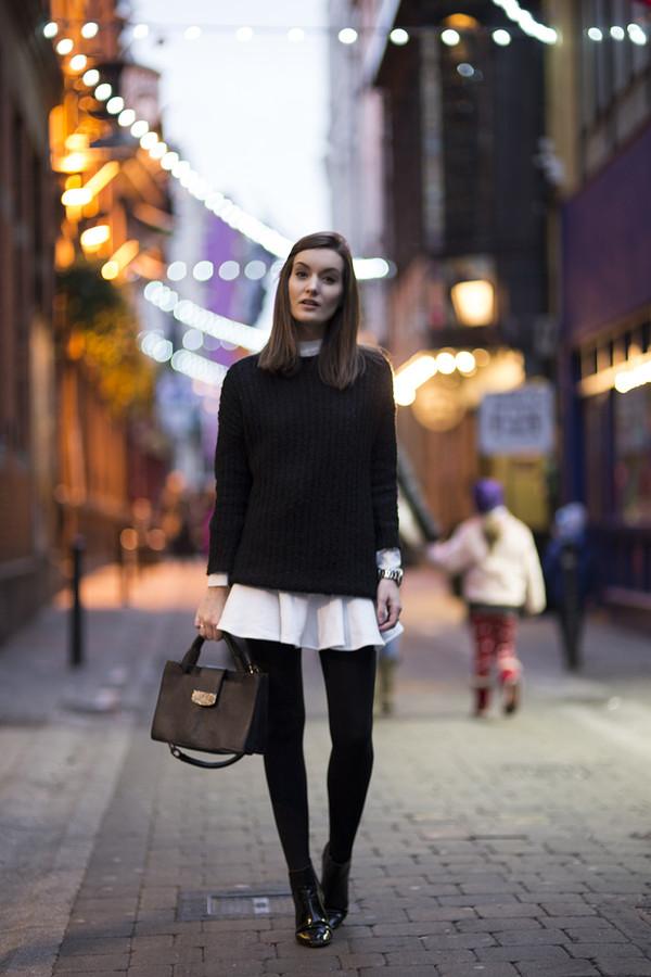 anouska proetta brandon t-shirt sweater skirt bag shoes jewels