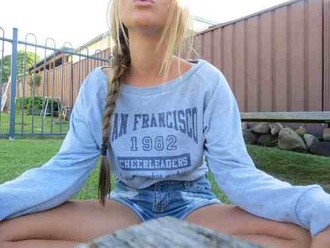 sweater san francisco cool tumblr california california shirt