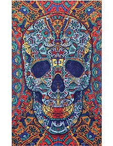 Sunshine joy® 3d skull tapestry