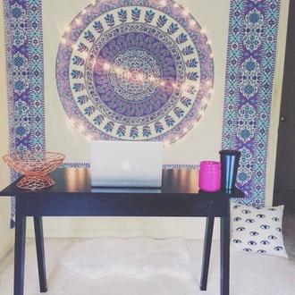home accessory tapestry mandala