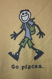 83ac62b647b Life is Good - Go Places - Hiking T-Shirt XL (B3)