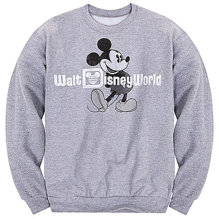 Long Sleeve Walt Disney World Mickey Mouse Fleece Sweatshirt for Adults | Hoodies & Sweatshirts | Disney Store ($20-50) - Svpply