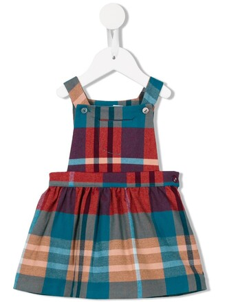 dress pinafore dress girl toddler red