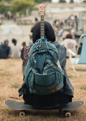 bag,retro,vintage,music,backpack