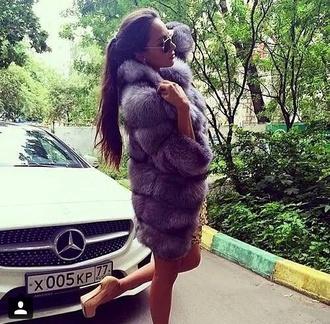 coat fourrure luxe luxury