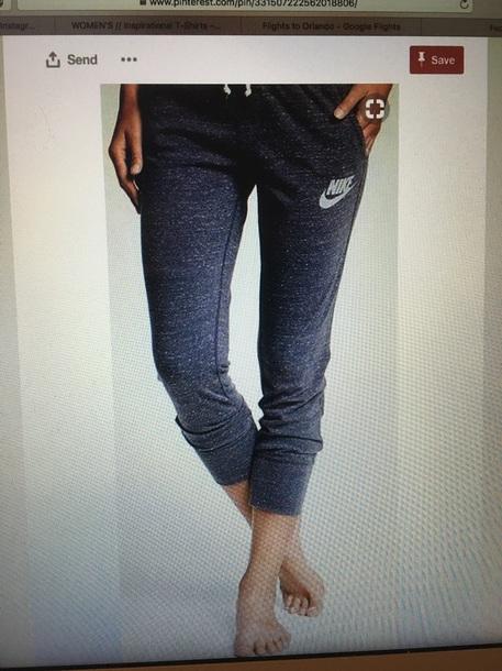 pants heather grey