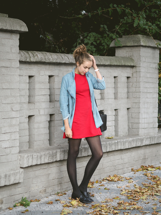 a cup of style blogger dress jacket shoes bag jewels