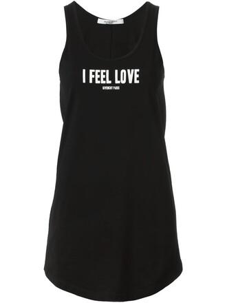 tank top top love black