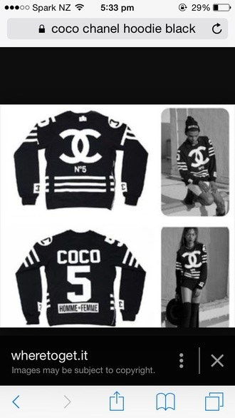 sweater coco chanel