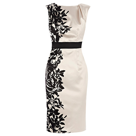 Buy Coast Pensae Printed Dress, White online at John Lewis